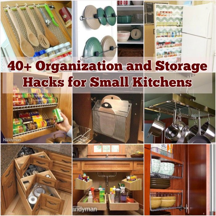 40+ organization and storage hacks for small kitchens - i creative ideas