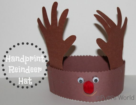 meet the dubiens handprint reindeer