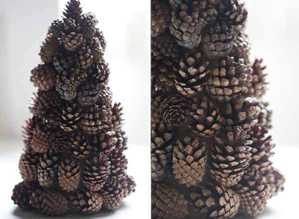 40+ Creative Pinecone Crafts for Your Holiday Decorations --> Pinecone Tree Craft