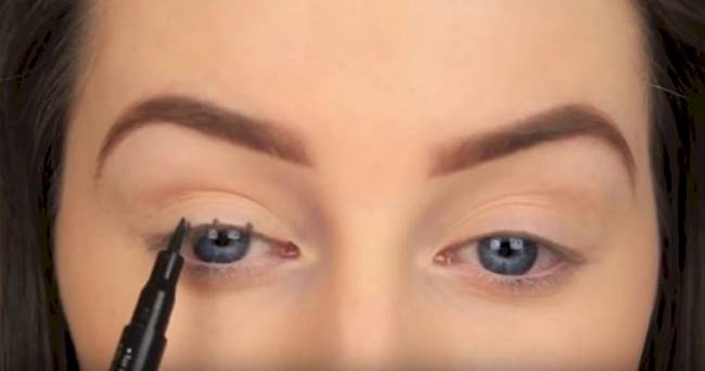 Creative Ideas - DIY How to Make Perfect Winged Eyeliner