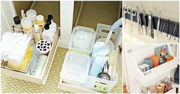 40+ Brilliant DIY Storage and Organization Hacks for Small Bathrooms