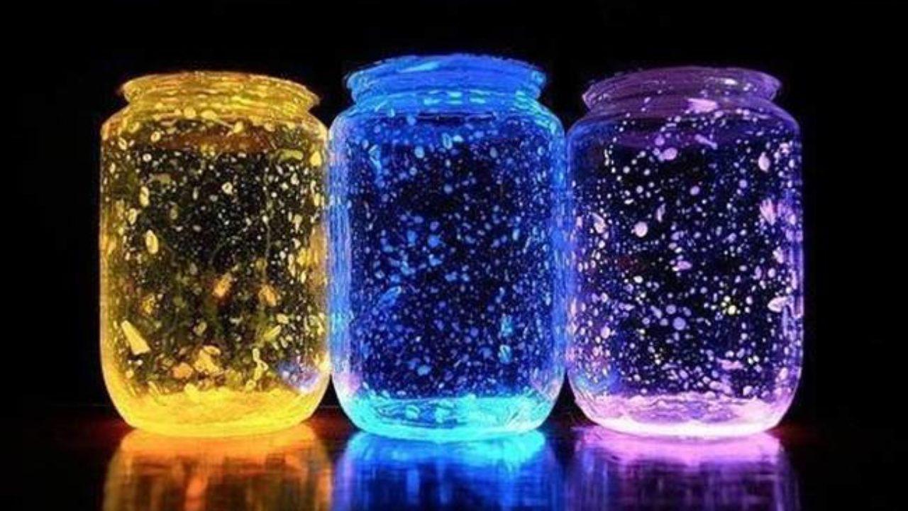 Creative Ideas Diy Glow Stick Galaxy Glow In The Dark Jars I Creative Ideas