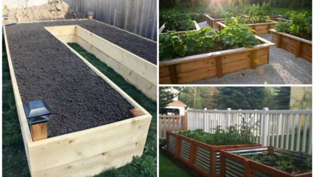 30 Creative Diy Raised Garden Bed Ideas And Projects I Creative Ideas
