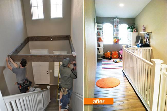 Creative Ideas Transform Empty Ceiling Space Into A Playroom I Creative Ideas