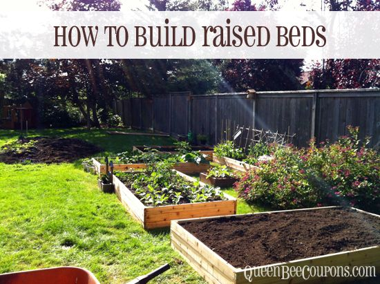 30+ Creative DIY Raised Garden Bed Ideas And Projects --> Build raised garden beds for $35