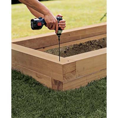 30+ Creative DIY Raised Garden Bed Ideas And Projects --> How to Build A Raised Planting Bed