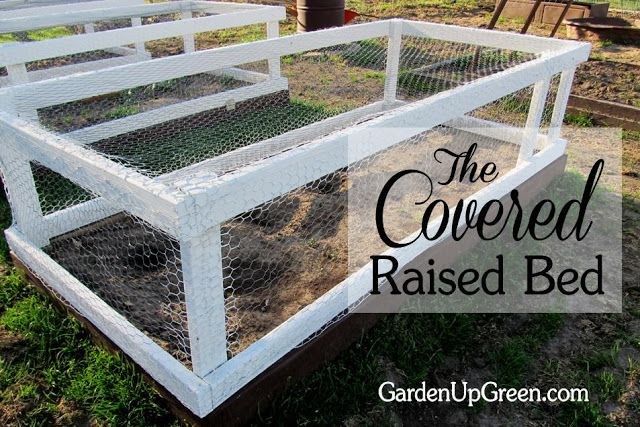 30+ Creative DIY Raised Garden Bed Ideas And Projects --> Covered Raised Beds
