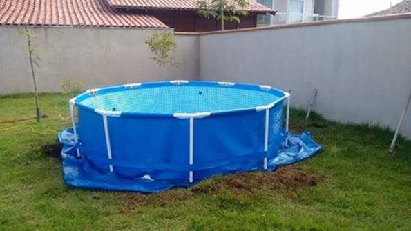 Creative Ideas Diy Above Ground Swimming Pool With Pallet Deck 1