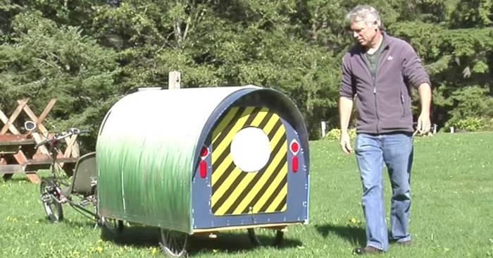 Creative Ideas - DIY Bike Stealth Camper