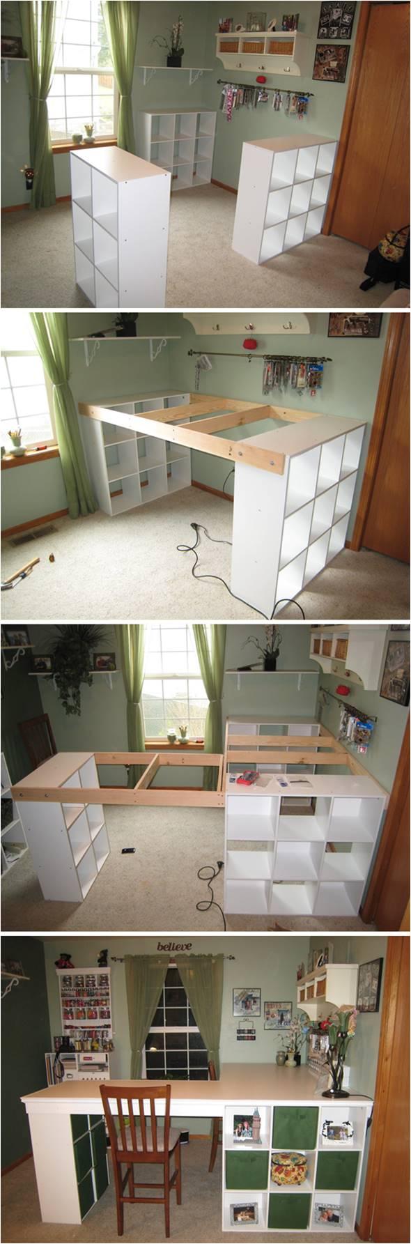 Creative Ideas Diy Customized Craft Desk