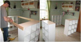 creative ideas diy customized craft desk - Craft Desk Ideas