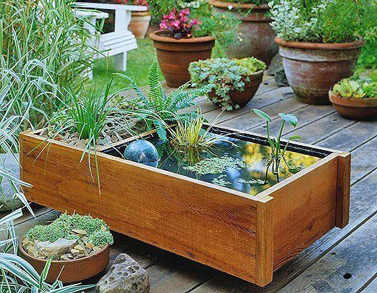 40+ Creative DIY Water Features For Your Garden --> How To Make a Water Garden