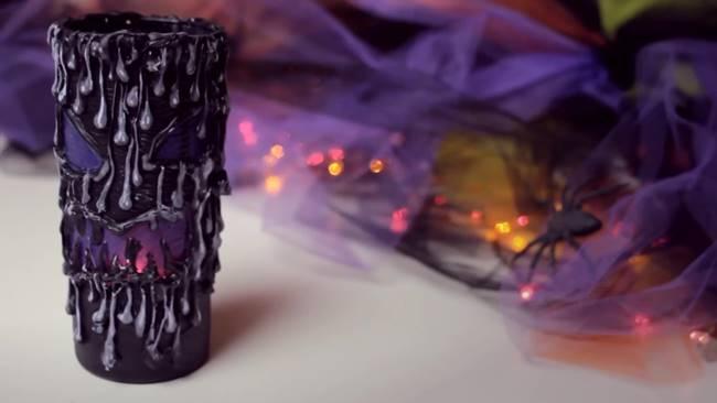 Creative Ideas - DIY Scary Halloween Lantern
