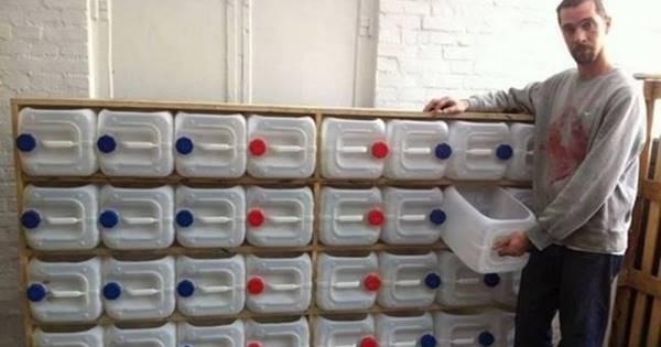 Creative Ideas Diy Upcycled Plastic Bottle Drawer