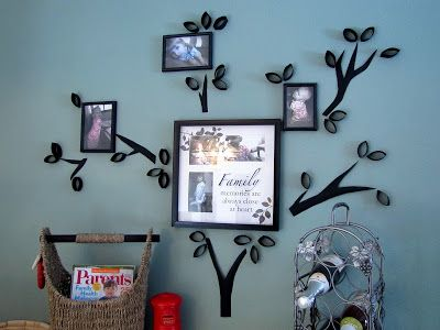 DIY Toilet Paper Roll Tree Wall Art