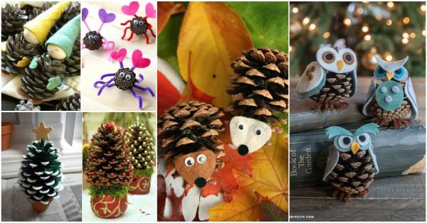 40 Creative Diy Pinecone Craft Projects For Kids I