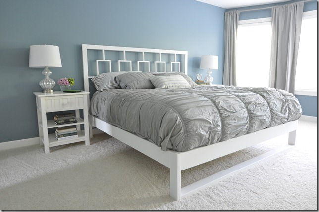 Simple White Bedframe Tutorial