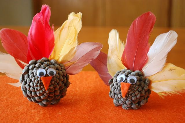 Pinecone Turkeys