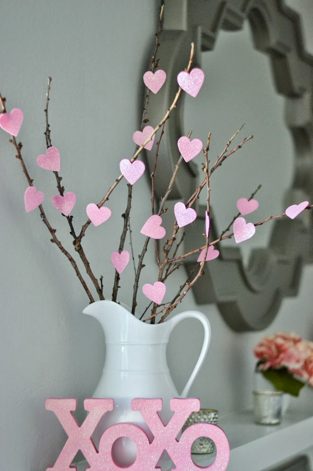 DIY Cute and Cheap Heart Tree