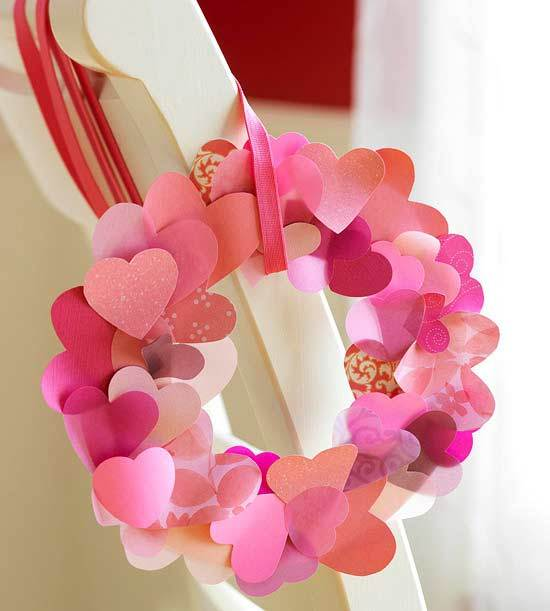 Heart-Shape Decorative Wreath